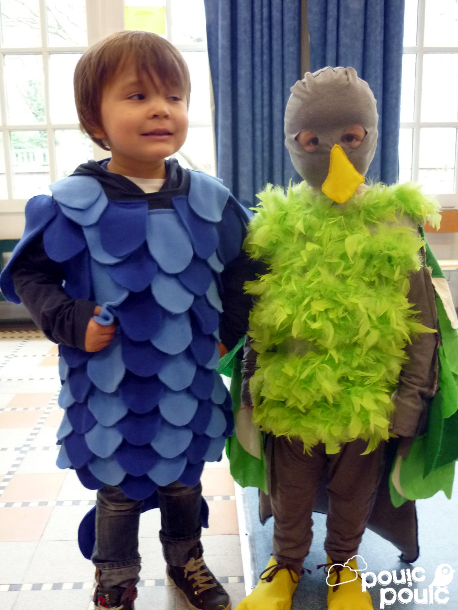 Deguisement oiseau - Deguisement ado a faire soi meme ...